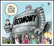 Economy is in reverse